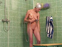 Shower swim cap vids